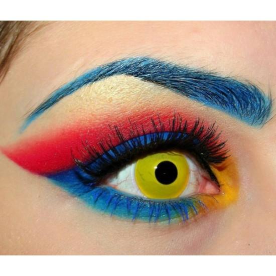 Neo Cosmo crazy N041 Жёлтый глаз